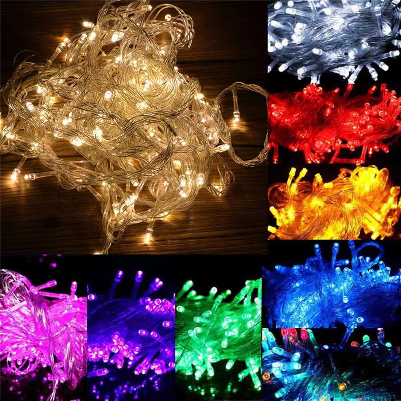 50M 400 Fairy LED String Light Outdoor Waterproof AC220V Chirstmas String Garland For Xmas Wedding Christmas Party Holiday ac220v 50m 400leds eu plug fairy string light 8 modes outdoor chirstmas string garland for xmas wedding christmas party holiday