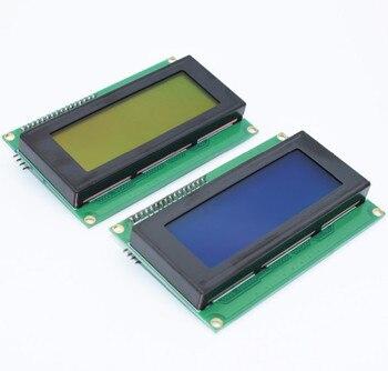 1 unids LCD2004 + I2C 2004 20x4 2004A azul/pantalla verde HD44780 LCD w/CII/I2C serie adaptador de Interfaz de módulo
