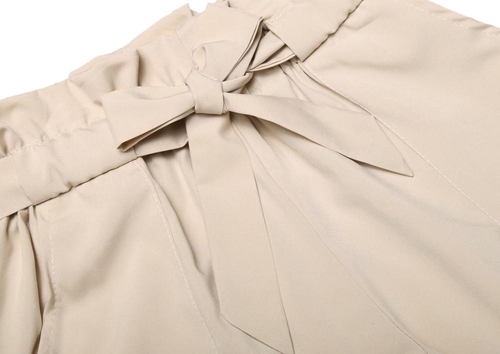 HTB1wk.sNXXXXXbkXXXXq6xXFXXXH - High Waist Shorts Loose Shorts With Belt Woman PTC 59