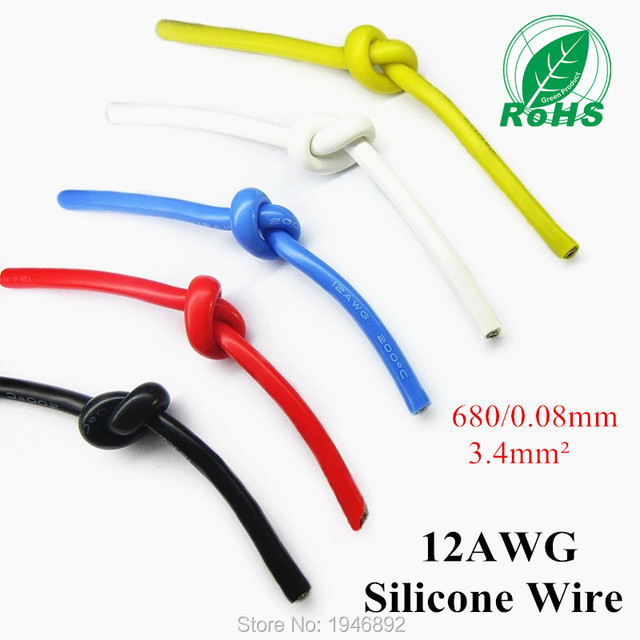 12 awg wire in mm wire center 12awg flexible silicone wire rc cable 12awg 680 0 08ts outer rh aliexpress com 100 awg 12 wire 12 awg wire in mm2 greentooth Choice Image