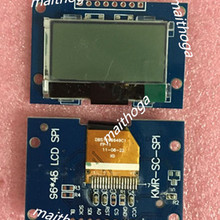 17PIN SPI COG 9649 lcd с печатной платой UC1701 Привод IC 3,3 V подсветка