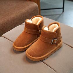 Mudipanda детские теплые ботинки «мартенс» для мальчиков и девочек модные ботинки школьная обувь детская обувь зимние новые красно-коричневый