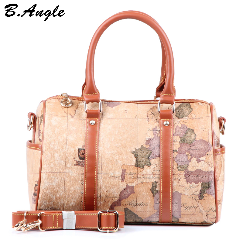 2016 stars war map message fashion vintage high quality women 2016 stars war map message fashion vintage high quality women messenger bag handbag shoulder bagn totes in pvc in top handle bags from luggage bags on gumiabroncs Images