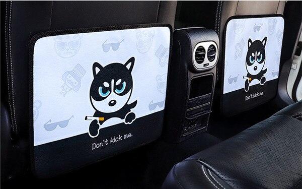Cartoon Car Anti Kick Mat  (9)