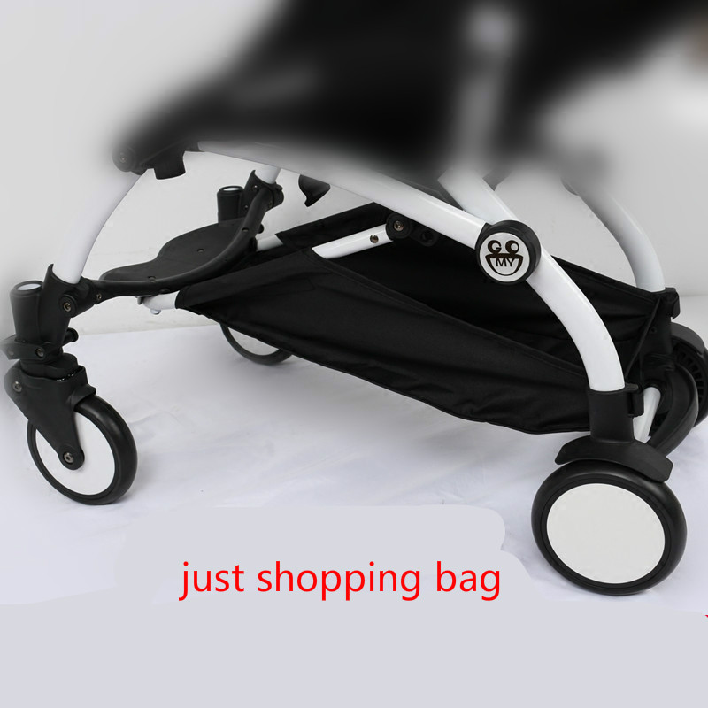Original Newborn Baby Stroller Pushchair Attachable Bottom Basket Bottle Drink Food Diaper Storage Bag Organizer Yoyo Yoya