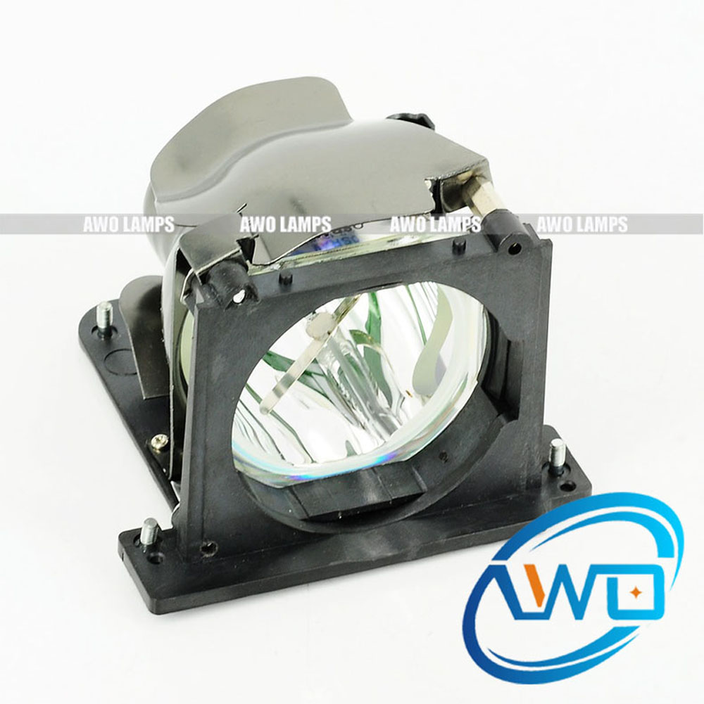 AWO Free Shipping 310-3836 / 730-11487 Fast Shipping Compatible Projector Lamp with Housing for DELL Brand Projector 2100MP free shipping compatible projector lamp with housing r9832752 for barco rlm w8