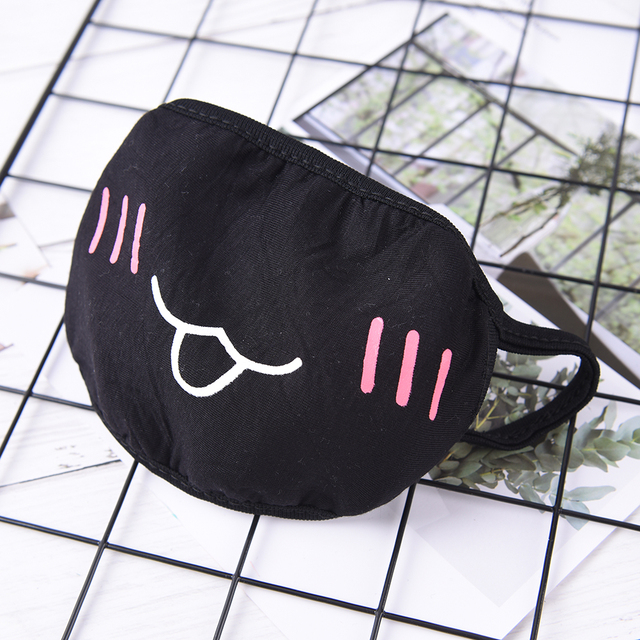1pcs Men Women Cartoon Mouth Mask Adult Anti Haze Mask Anti-dust Mouth Mask Windproof Mouth-muffle Flu Face Mask Styles 4