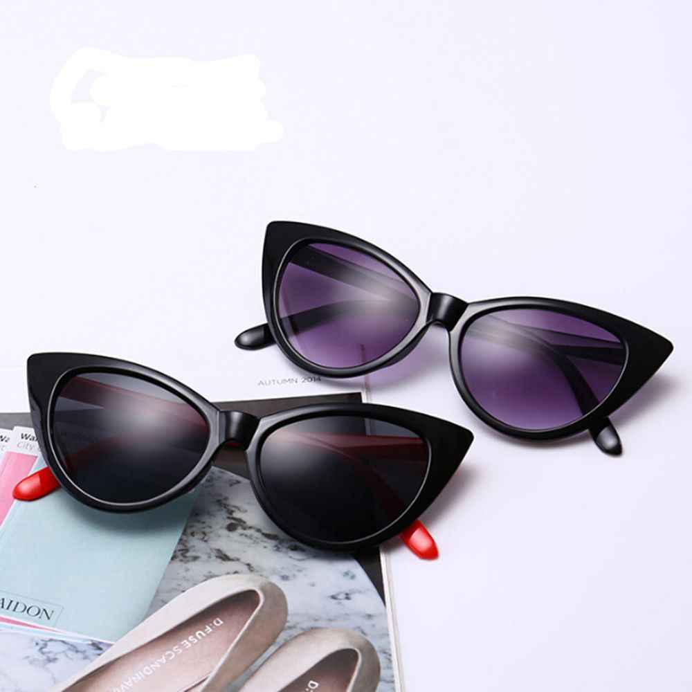 1PC Cat Eye Sunglasses Explosions Retro Personality Men women Sunglasses Glasses Eyewear Driver Car Accessories Dropship