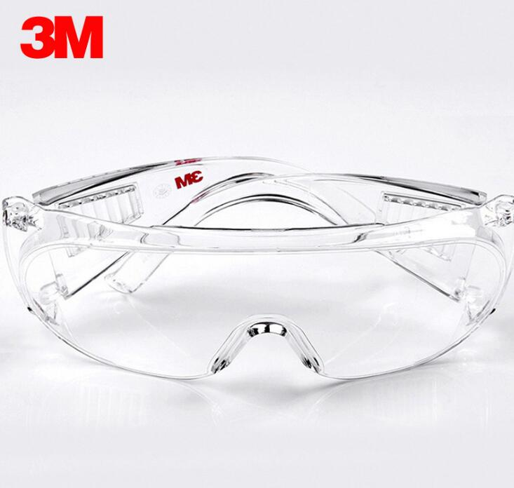3M protective glasses 1611HC visitors with protective labor protection dust glasses wind goggles labor insurance classy alloy framed presbyopia reading glasses with protective case 2 50