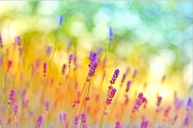 Custom large mural papel de parede,Beautiful Fantasy lavender ...