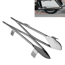 Motorcycle  Pinnacle Saddlebag Protector Rails For Indian Roadmaster 15-18 Chieftain 14-18