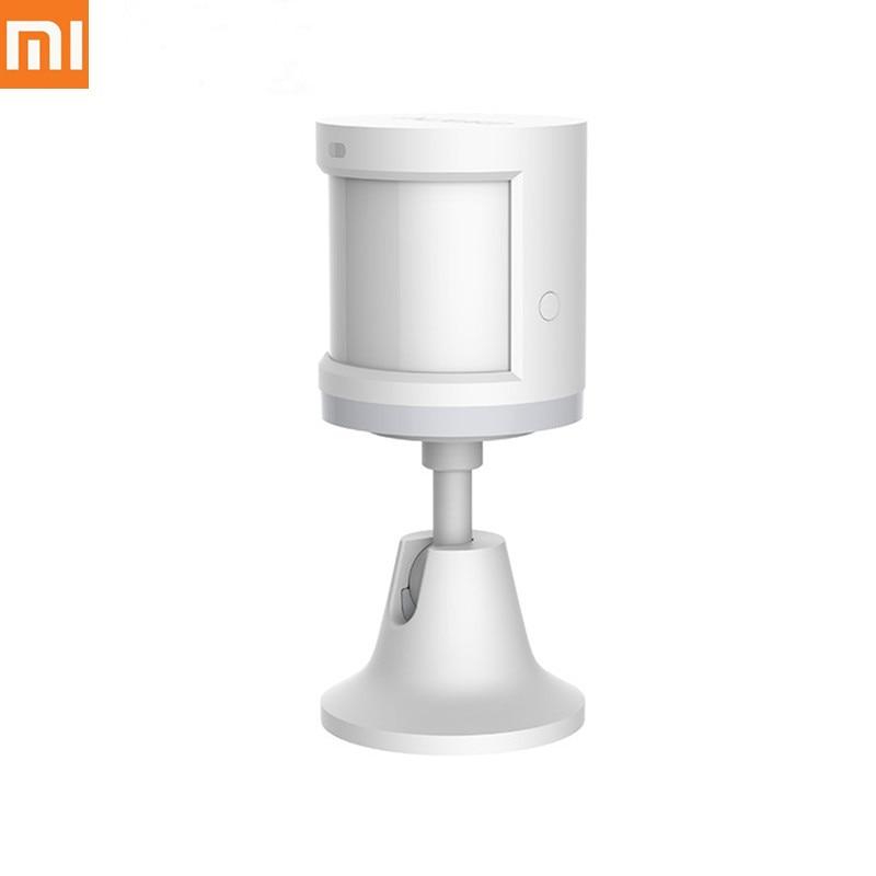 Xiao mi mi jia Aqara Inteligente Corpo Humano Sensor de Movimento Do Corpo Do Sensor De Movimento Sem Fio ZigBee Gateway de suporte Conexão Luz mi casa