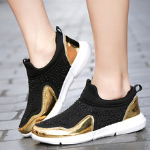 Buy rhinestone platform sneakers and get free shipping on AliExpress.com 87be1decdcb5