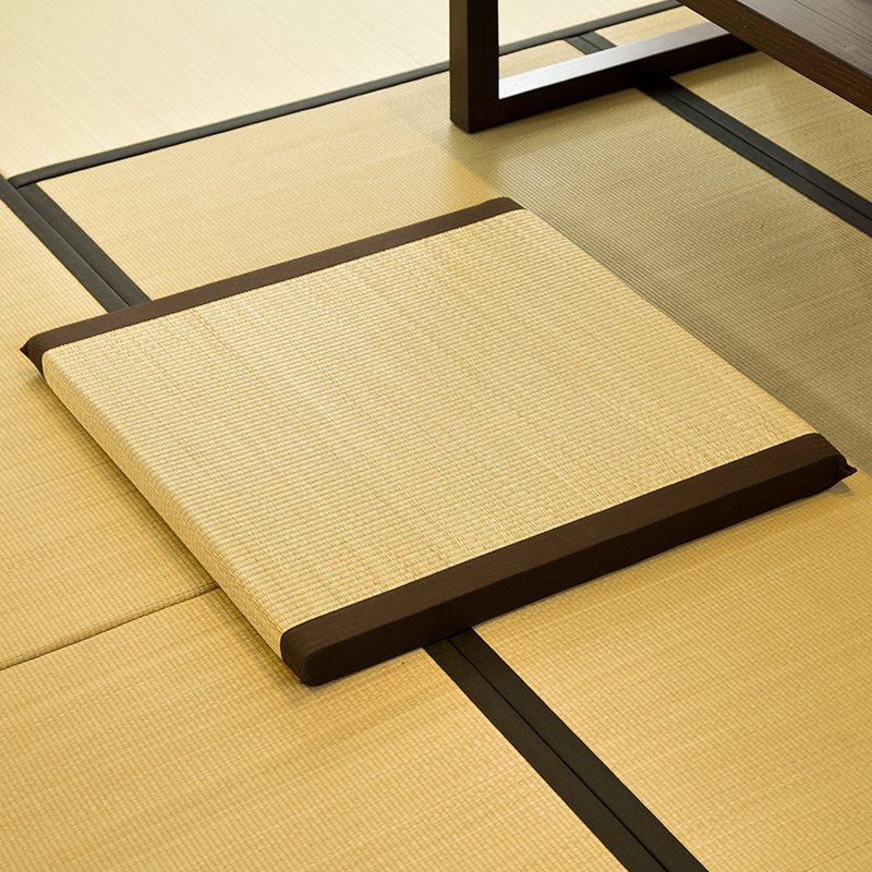 Zen Cushion Zabuton Zafu Square 55-65cm Floor Meditation Seat Japanese Floor Tatami Mat Zabuton Straw Cushion Buddha Meditation