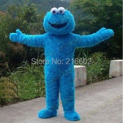 Blue Cookies Maskot Costume Vánoční cosplay kostýmy pro událost Halloween party