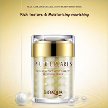 60g Face Cream Brand BOAQUA Pure Pearl Essence Hyaluronic Acid Cream Moisturizing Skin Care Anti Wrinkle Whitening Cream Mask
