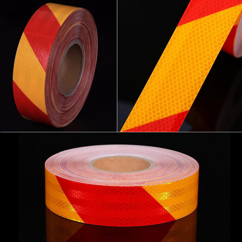 50mm X 3m Reflective Car Stickers Adhesive Tape For Car Safety