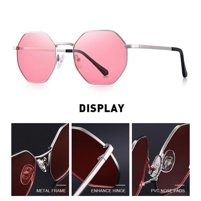 Gafas de sol polarizadas Octágonales UV400