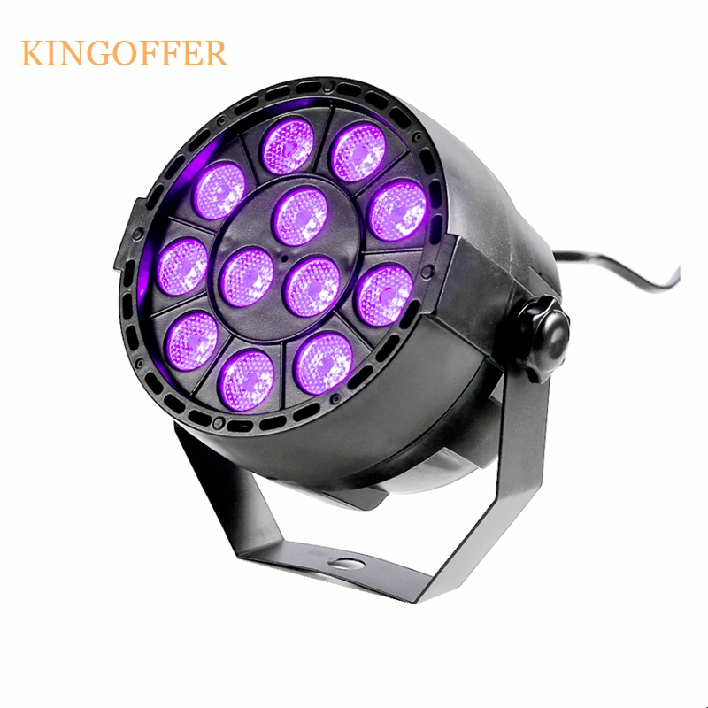 Good New 36W 12 LEDs Sound Active UV Led Stage Par Light Ultraviolet Led Spotlight Lamp for Disco DJ Projector Machine Party 36w uv led stage light black light par light ultraviolet led spotligh lamp with dmx512 for disco dj club show party decoration