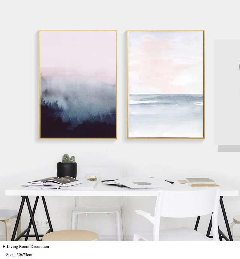 Heart-longing-Wall-Art-Prints-and-Posters-Nordic-Ins-Canvas-Painting-for-Living-Room-Decoration-Wall - -