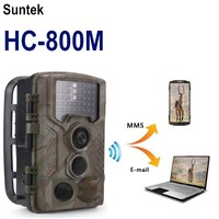 Hunting Camera HC800M 16MP MMS GSM Email Transfer Photo Trap 1080P Infrared Motion Detection Hunting Trail Camera chasse Foto