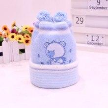 Newborn Hat Kids Winter Hats Baby Cap Super-Soft Cashmere Bo