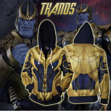 Thanos Cosplay Avengers: Endgame Costume Movie Hoodie Sweatshirts Men Women Jackets 2019 New