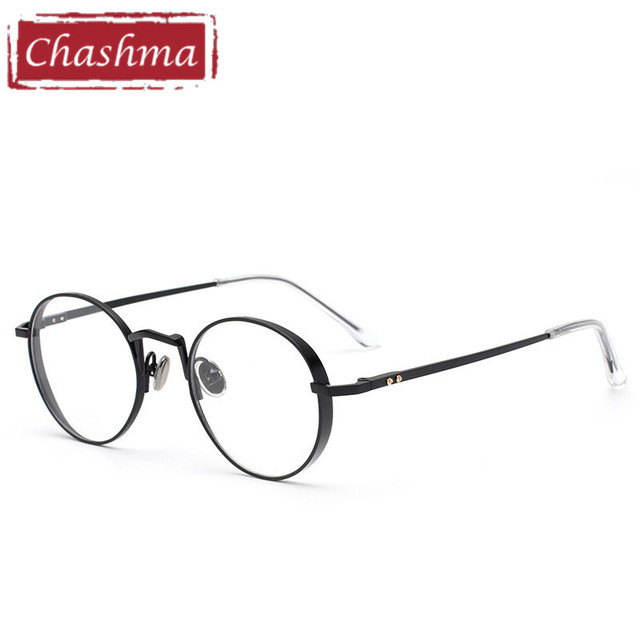 47a58b3561 Chashma Brand Trend Round Eyeglasses Prescription Glasses Frame Vintage  Optical Glasses Frame Women and Men Stylish