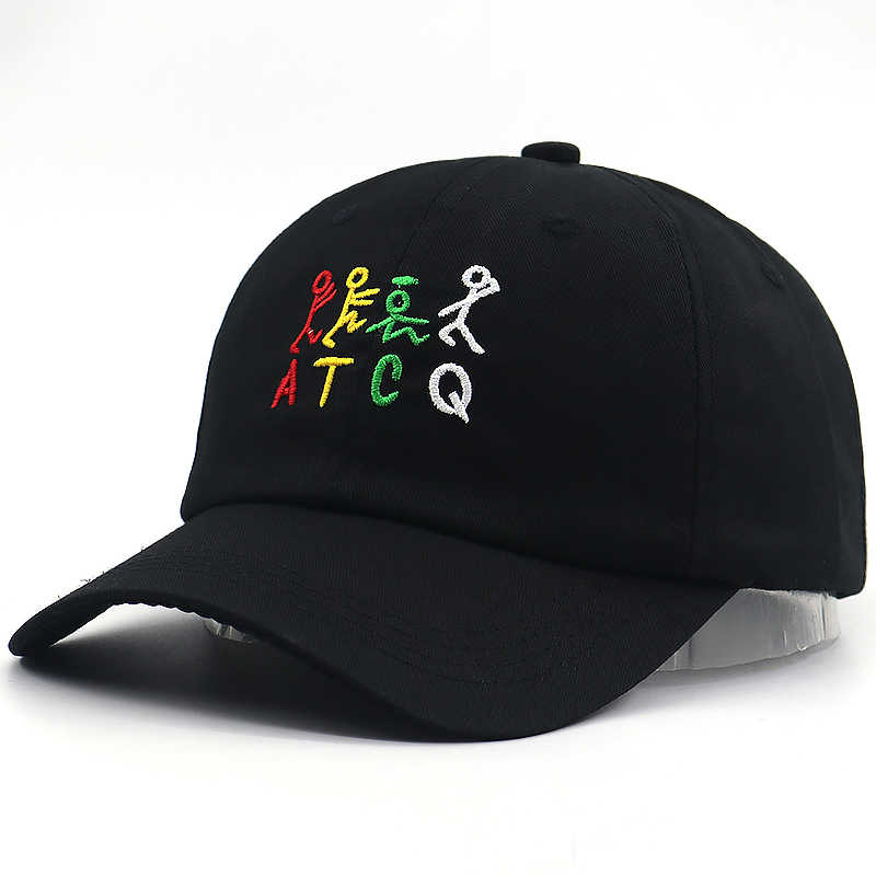 147578503d36b8 ... A Tribe Called Quest ATCQ Embroidered Dad Hat Strap Back Cap Classic  90s Hip Hop baseball ...