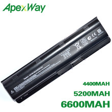 ApexWay laptop Battery for HP 430 431 435 630 631 635 636 650 655 Notebook PC HP630 G32 G72t G56 G62M G62X G7T G42T Envy 15 17(China)