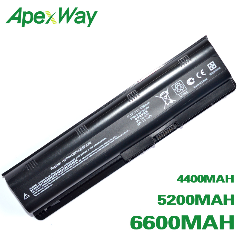 ApexWay Laptop Battery For HP 430 431 435 630 631 635 636 650 655 Notebook PC HP630 G32 G72t G56 G62M G62X G7T  G42T Envy 15 17