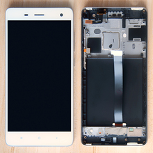 5.0 mobile phone LCD For XIAOMI Mi 4 Touch Screen with Frame Mi4 Display Xiaomi Replacement