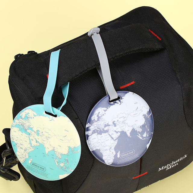 Luggage Tags   Global Maps