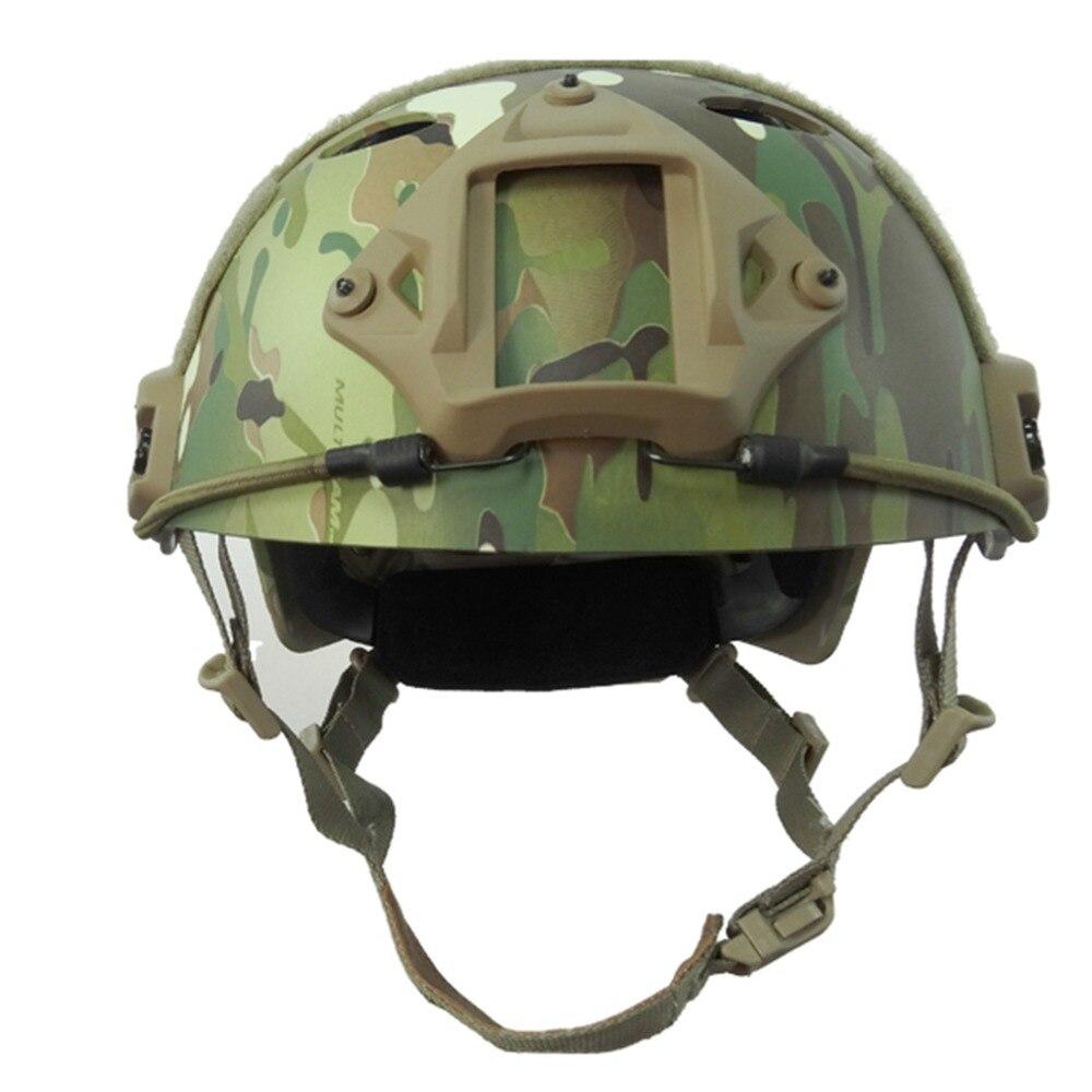 us army helmet Airsoft paintball enhanced combat FAST--PJ-MC  Standard version Helmet military Tactics helmet Climbing helmet free shipment kevlar helmet airsoft paintball ballistic helmet fast bj green standard version helmet military tactics hat