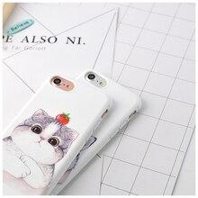 Fashion Cute Dog Case For Apple iPhone 6 6S Plus 7 7 Plus