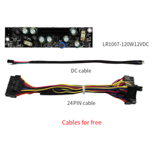With 24 PIN Cable LR1007 120W 12VDC DC Power Supply Board ATX Power Module Free Shipping