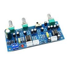 2.1 kanałowy subwoofera przedwzmacniacz płyty dolnoprzepustowym filtrem płyta wzmacniacza NE5532 dolnoprzepustowym filtrem bas przedwzmacniacz