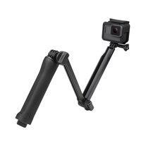 SHOOT Multi Function Tripod Extendable Handheld Monopod Adjustable Selfie Stick For GoPro Hero 5 3 4