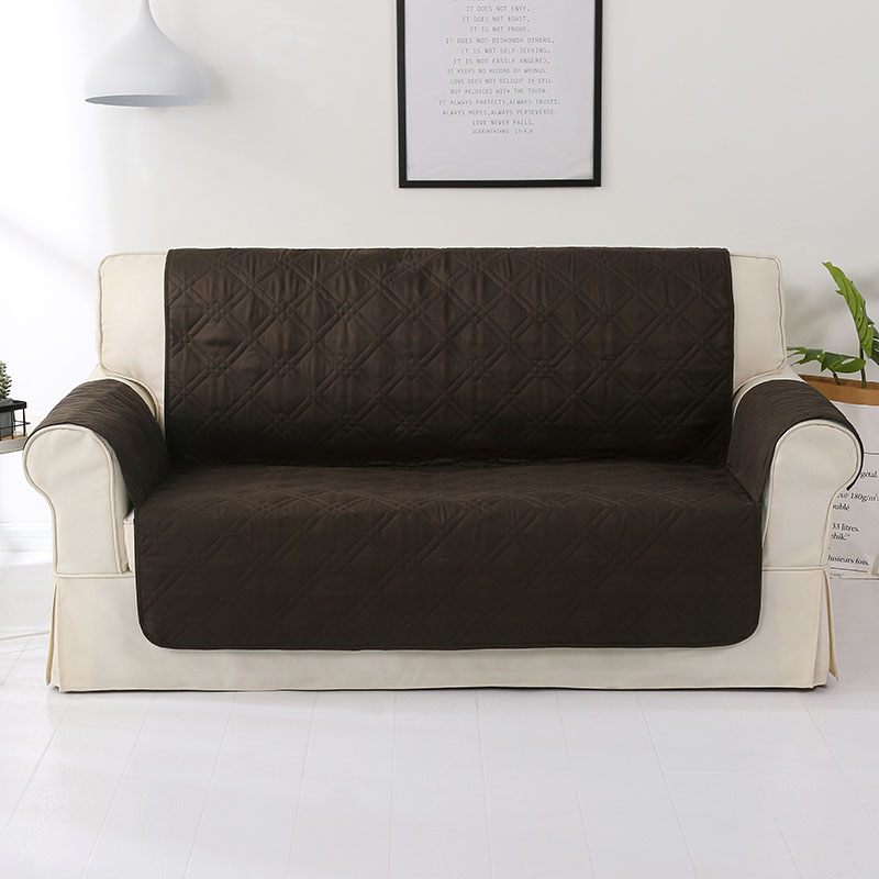Us 19 55 44 Off Absolutely Waterproof Sofa Cover For Pets Kids Coffee Covers Living Room Anti Slip Protector In