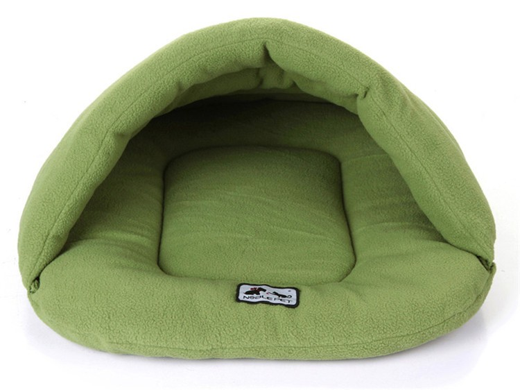 Hot Sale Warm Sleeping Bags Pet Kennel Pet Cat Nest Dog Litters Medium and Small Animal House Free shipping Dog House Perros in Houses Kennels Pens from Home Garden