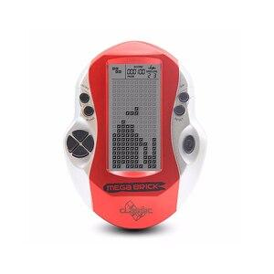 Image 3 - Горячая Ретро Классическая портативная игровая консоль тетрис для детей встроенный 26 игр большой экран тетрис игровая машина подарок для детей
