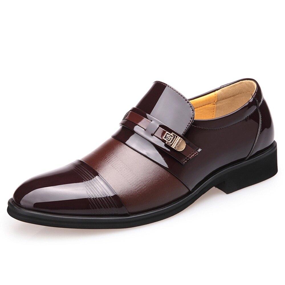 Luksusa zīmola vasaras vīriešu formālās apavi vīriešu - Vīriešu apavi