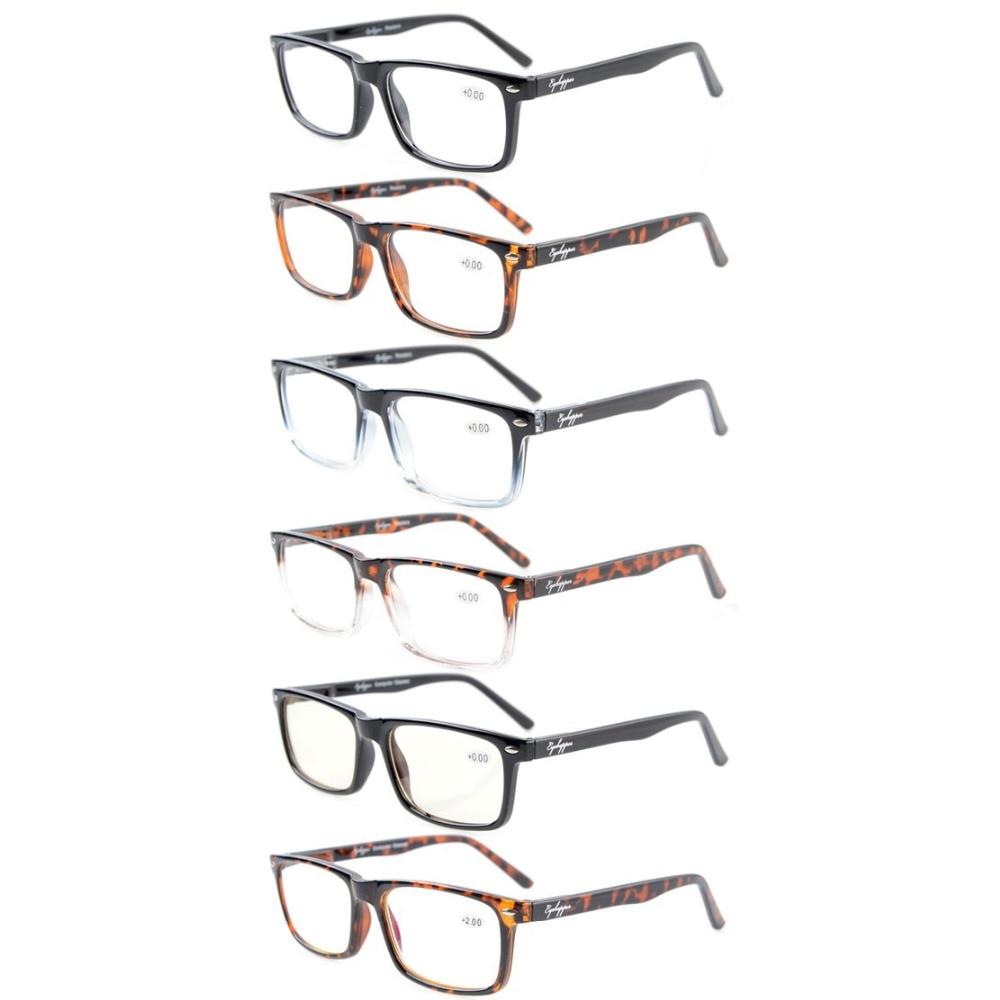 R899-6 Mix Eyekepper Lectores de 6 láminas Bisagras de muelle Gafas - Accesorios para la ropa