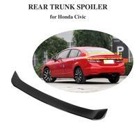 Glossy balck Car Trunk Rear Roof Spoiler Wing Lip For Honda For Civic Sedan 2012 2015 Wing Sopiler