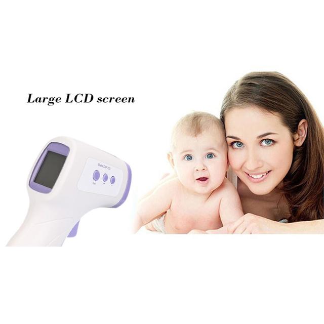 2016 Marca Nuevo Multi-propósito Bebés Termómetro Infrarrojo Sin contacto de La Frente Del Cuerpo Termometro Digital Operación Fácil Cuidado de La Salud