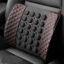 цена Car Electric Massage Cushion Vehicle Seat Back Waist Support Lumbar Pad Massager онлайн в 2017 году