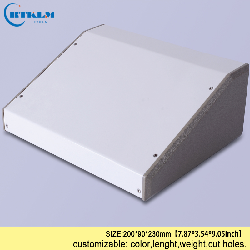 Iron housing for electronics wire connection box Power supply project box diy iron wire junction box for pcb design 200*90*230mm
