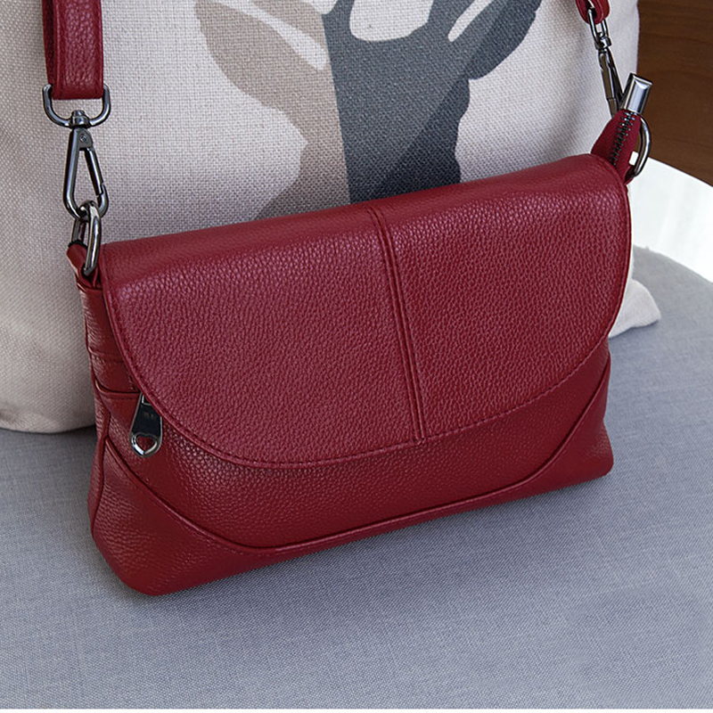 Meigardass Brand New Style Genuine leather messenger bags for woman ladies shoulder bags new handbags female cowhide shopp