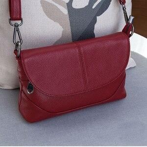 Image 4 - Skórzane torebki Crossbody dla kobiet torebki damskie na ramię nowe modne torebki damskie torebka ze skóry bydlęcej duże torba z rączkami