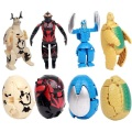 Free Shipping 4PCS/LOT  Deformed Egg Ultraman Transformation Robot Novelty Educational Robot Ultraman Monster Toy with No Box